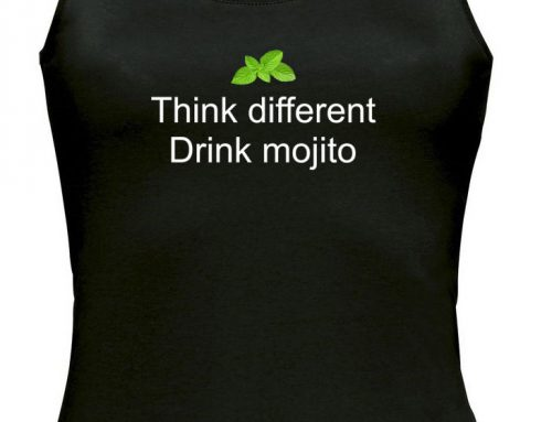 Débardeur Think different – Drink Mojito