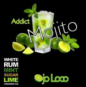 Tee shirt homme et femme Mojito Addict